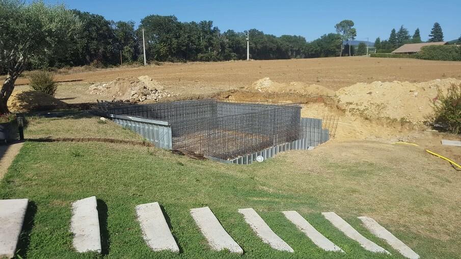 piscine monobloc structure