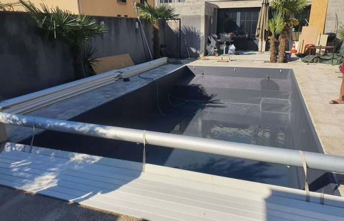 rénovation piscine pvc armé