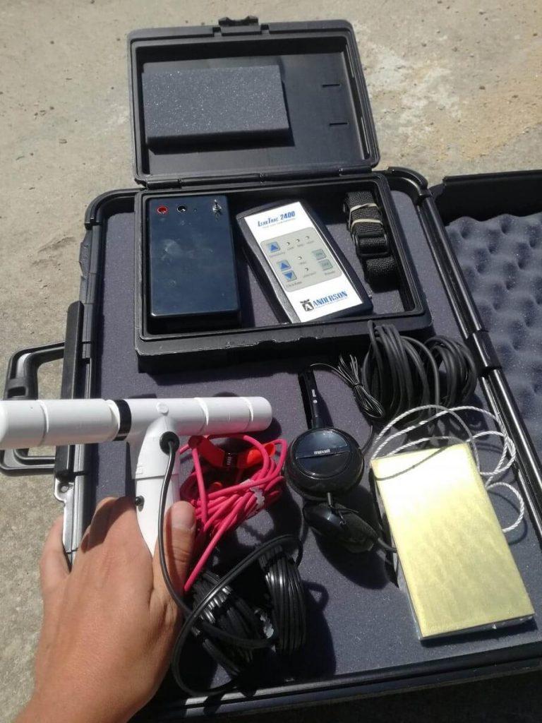 detection de fuite par onde pour étancheité